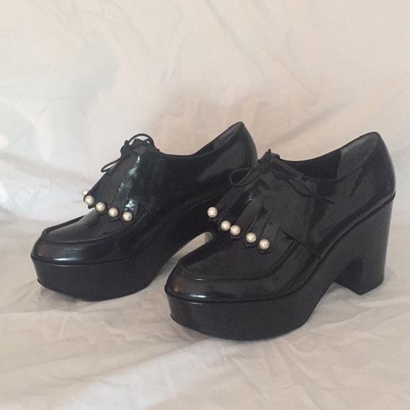 Robert Clergerie Shoes - Robert Clergerie Vally Platform Brogues